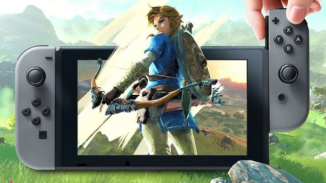The Legeng of Zelda на Nintendo Switch
