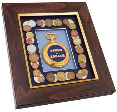 Коллаж 'Время-деньги'