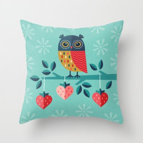 Оригинальная подушка 'Owl Always Love You'