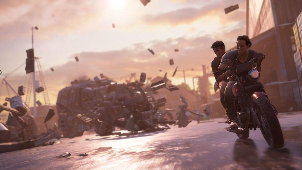 Uncharted 4: погоня