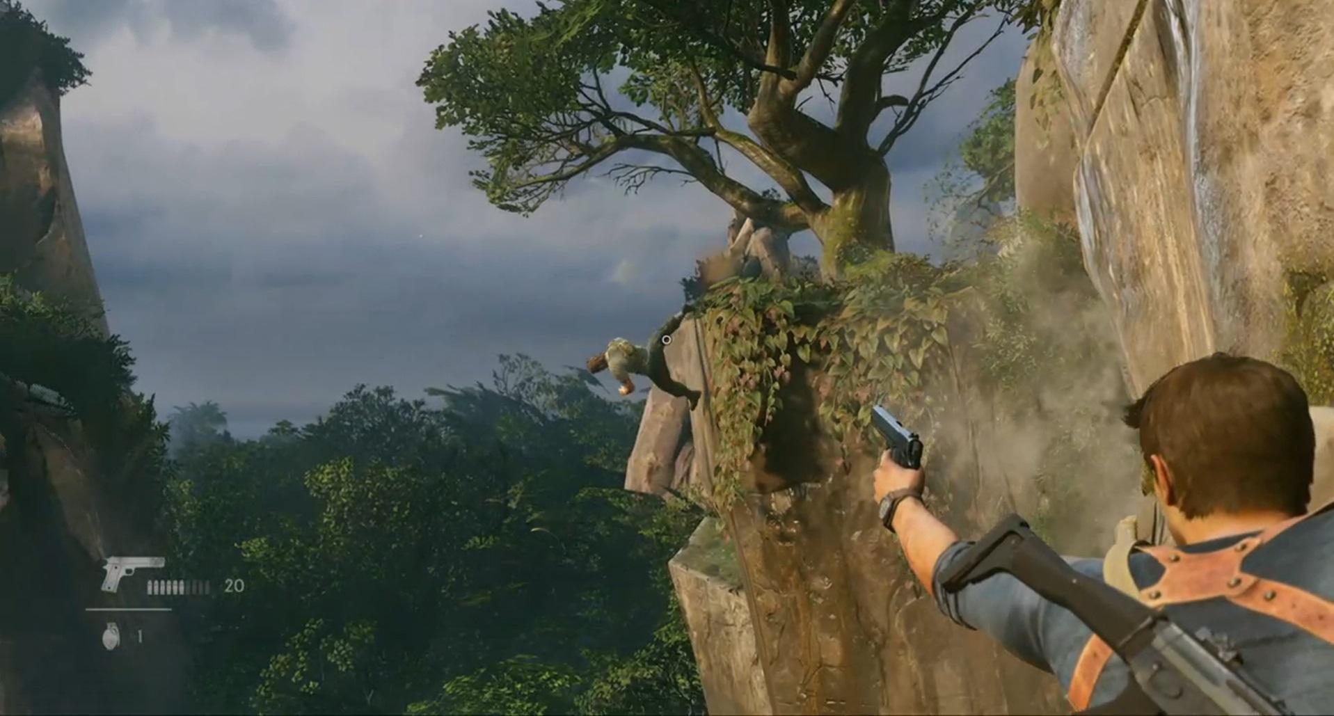 Uncharted 4: стрельба