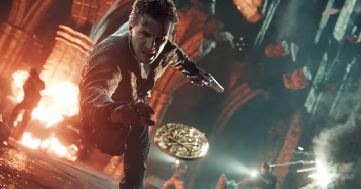 Uncharted 4: эпичность и динамика