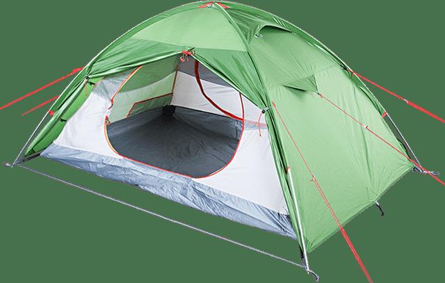 туристическая палатка 'Steady 2 EXT'