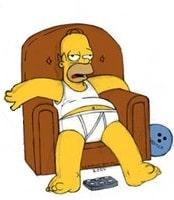 Гомеру Симпсону жарко