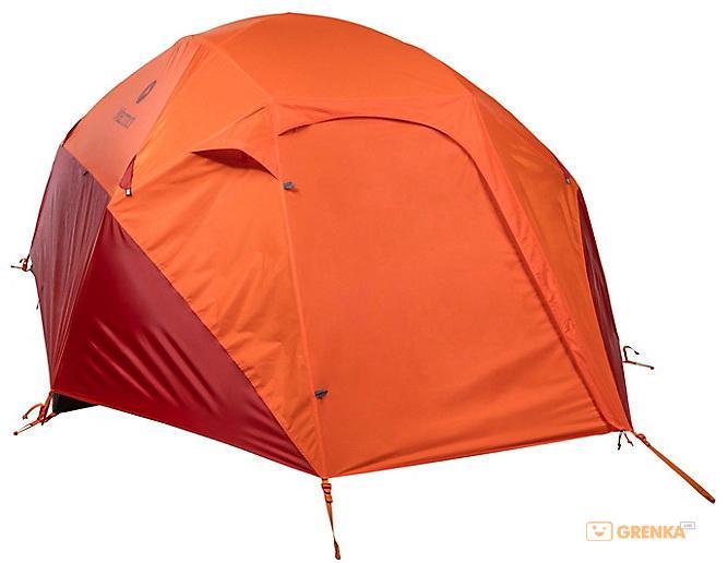туристическая палатка MARMOT Limelight 2P cinder/rusted orange