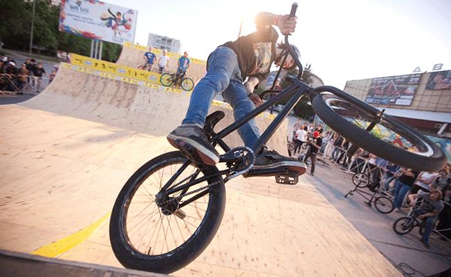 Спортивное направление BMX