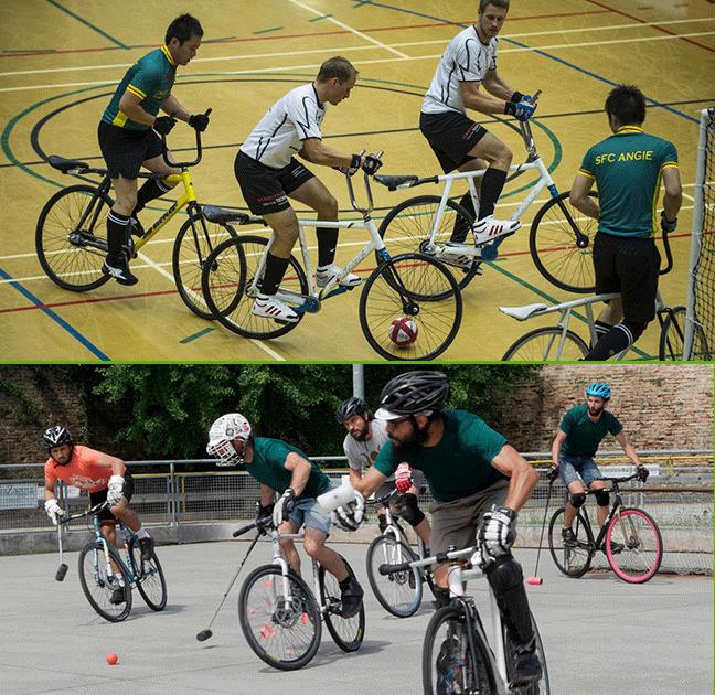 Велополо и велобол