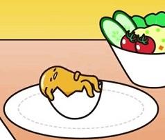 ленивый желток в яйце