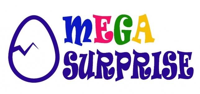 Большие яйца с сюрпризом Megasurprise