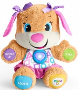 Интерактивная игрушка Fisher-Price 'Сестричка умного щенка с технологией Smart Stages