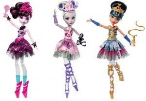 Кукла Mattel Monster High Балерина (FKP60)