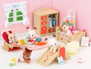 Набор Sylvanian Families 'Детская комната (с горкой)' (5288)