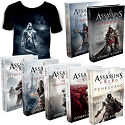 Assassin's Creed (суперкомплект из 7 книг) + футболка в подарок