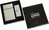 Портсигар+зажигалка Champ Cigarette Case + Usb Igniter