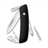 Швейцарский нож Swiza D04 черный