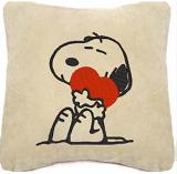 Сувенирная подушка 'Снупи с сердечком'