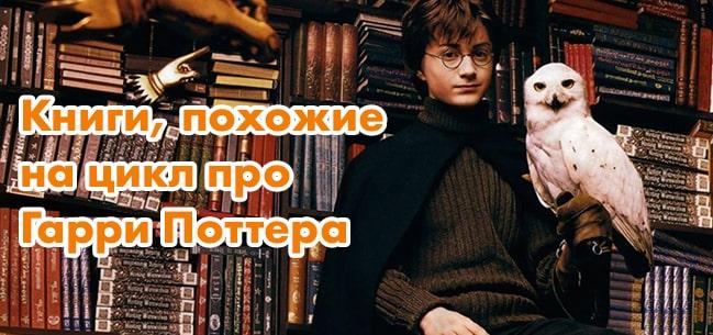 Книги, похожие на Гарри Поттера