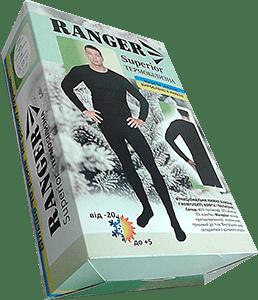 Комплект термобелья Ranger Superior, кофта + кальсоны (L)