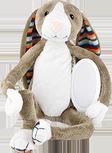 Мягкая игрушка с ночником Zazu BO 'Зайчик'