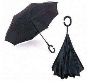 Зонт обратного сложения Feeling Rain
