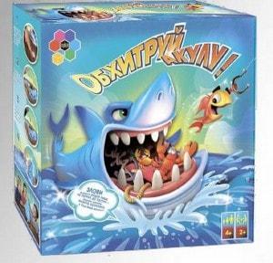 Настільна гра Super Puper 'Обхитруй акулу'