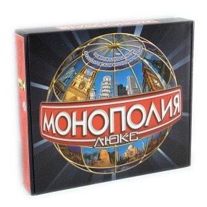 Настольная игра 'Монополия Люкс'