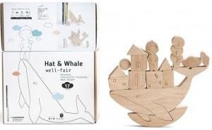 Развивающая Игра для детей Babai Балансир 'Шапочка и кит'