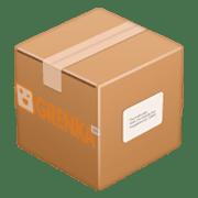 посылка в коробке