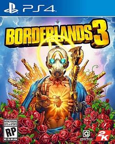 предполагаемая обложка игры BORDERLANDS 3 PS4 - РУССКАЯ ВЕРСИЯ